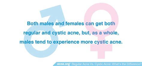 Regular Acne regular acne vs cystic acne what s the difference acne org