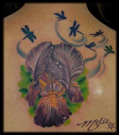 iris tattoo designs iris images designs