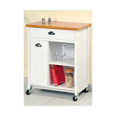 but petit meuble de cuisine desserte de cuisine blanc avec rangement meuble de