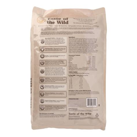 Taste Of The With Roasted 15 Lbs taste of the wetlands canine formula with roasted