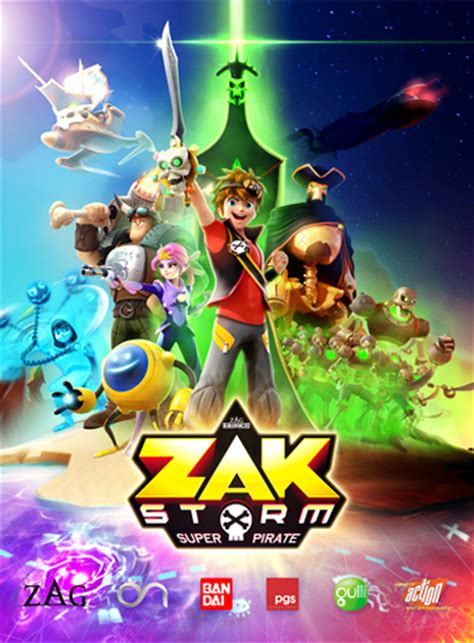film kartun zak storm on kids and family
