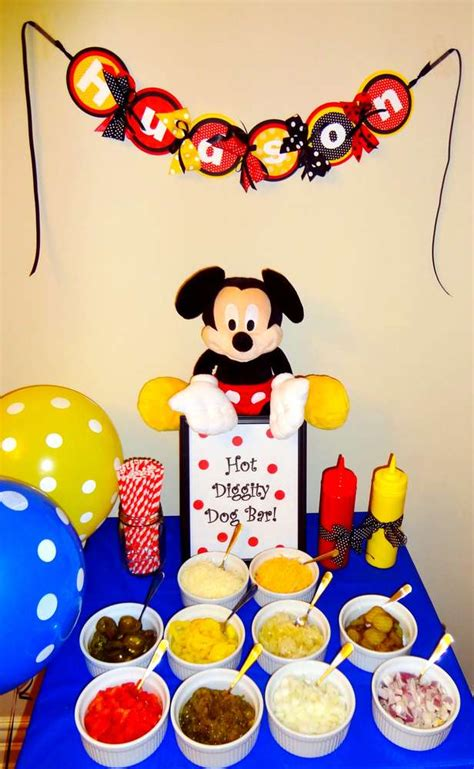 birthday themes mickey mouse mickey mouse birthday party ideas photo 8 of 23 catch