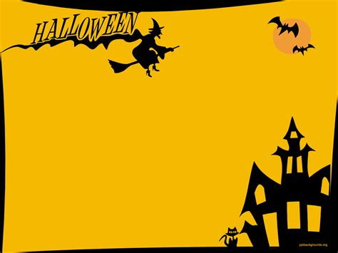 free halloween powerpoint templates download free ppt halloween backgrounds for powerpoint festival collections