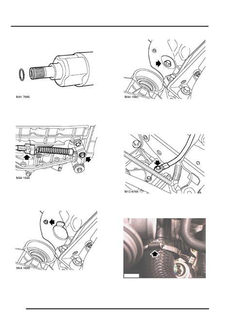service manual 2009 land rover freelander torque converter bolts removal car radiator