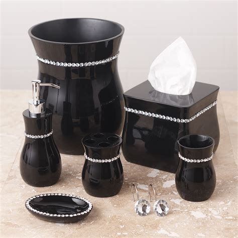 Black Bathroom Accessories black bathroom accessories