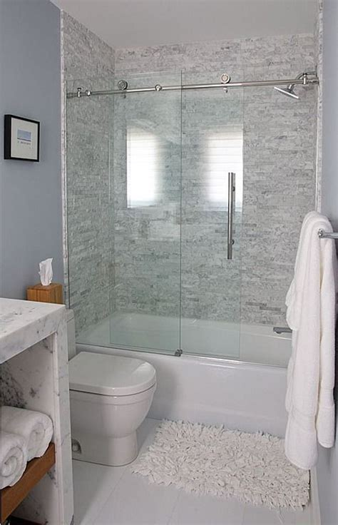 bathtub with shower doors 17 best ideas about tub shower combo on pinterest