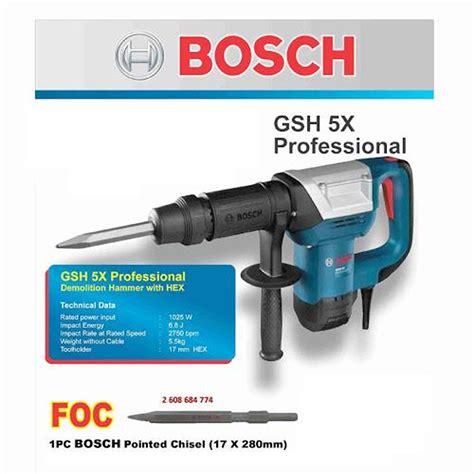 Mesin X harga jual bosch gsh 5 x mesin demolition hammer professional