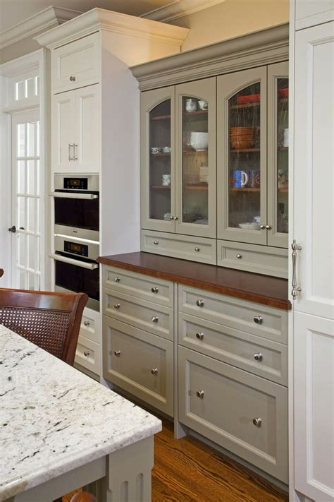 built in china cabinet buffet built in china cabinet like how there is a little bit of