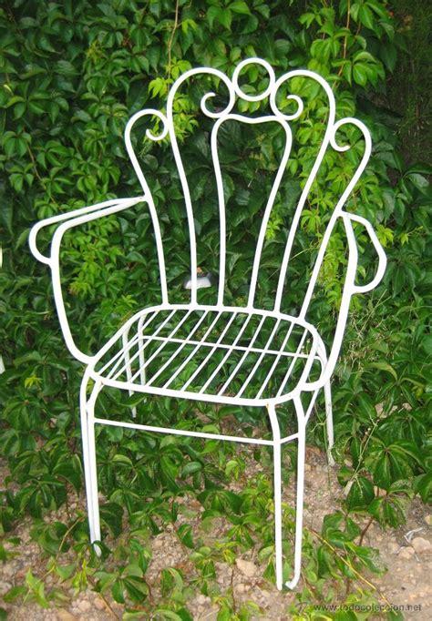 sillas de jard n lote de 4 sillas dise 241 o jardin hierro miticas s comprar