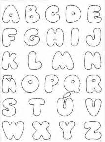 moldes de letra en foami imagui letras divertidas