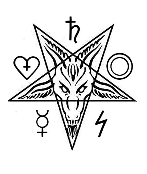 baphomet design by appleofdiscord on deviantart