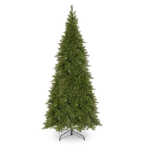 10 foot slim christmas tree national tree company 10 ft fir slim artificial tree at lowes