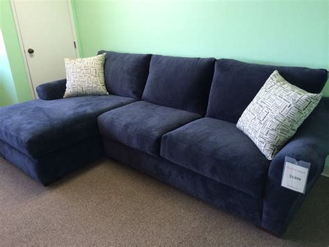 custom sofas 4 less huge sofa w chaise lounge the very popular deep cuddle