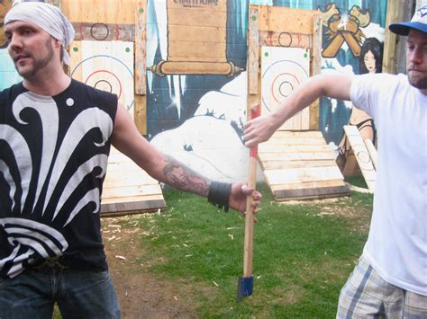 backyard axe throwing toronto toronto s backyard axe throwing league vice united states