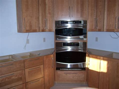 kitchen cabinet for wall oven 32 best images about kitchen ideas corner double ovens and
