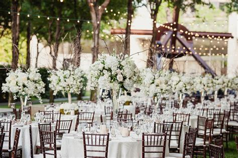 Garden Wedding Reception by Planning Your Intimate Wedding Ceremony And