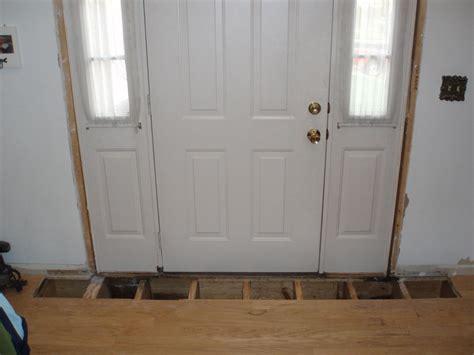 Replacing Exterior Door Replacing Rotted Joist Entry Door Timer Carpentry Contractor Talk