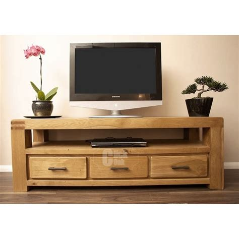 tv stands with cabinets oslo oak rustic oak large tv stand cabinet click oak