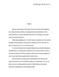 Manuscript Outline Template by Research Paper Essay Format Mla Format Research Paper