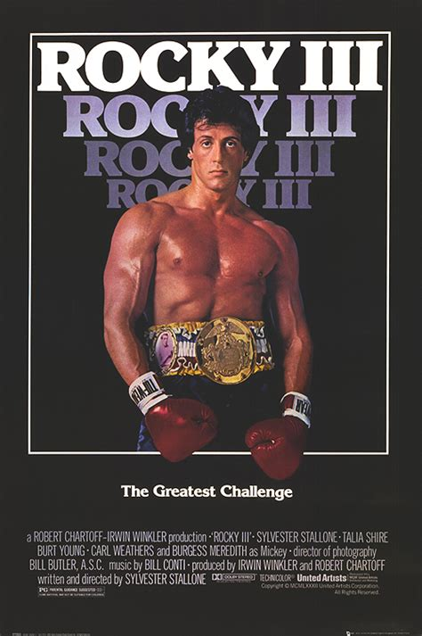 Rocky Iii 1982 Full Movie Wrestlers In Hollywood Movie Rocky Iii 1982 Directed By Sylvester
