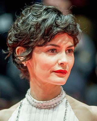 How To Style Your Hair Like Audrey Tautou Short Pixie | how can i style my short hair more curly like audrey tautou