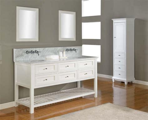 70 Quot Mission Double Bathroom Vanity Sink Console Direct To Bathroom Vanity Console