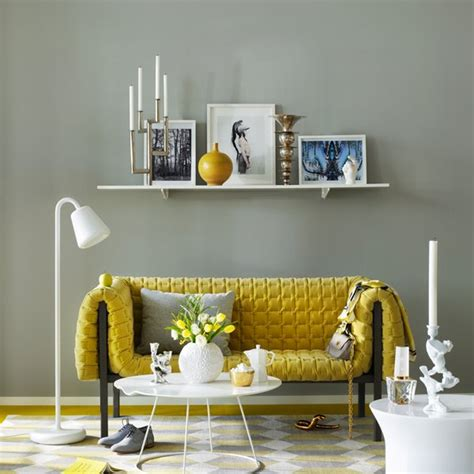 yellow and gray living room ideas yellow gray living room design ideas