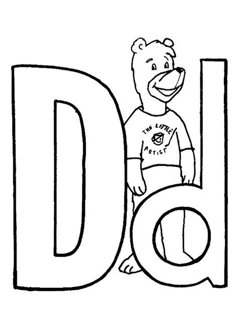 imagenes para colorear letras dibujos para colorear de letras de osito alfabetos