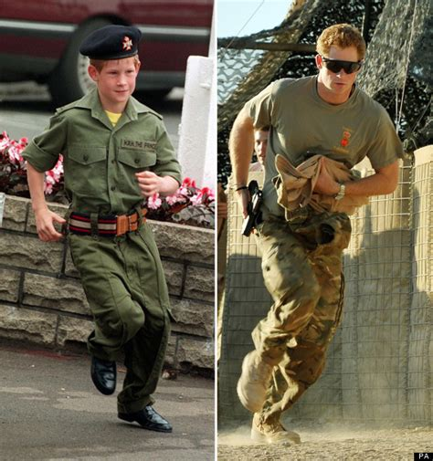 Prince Harry In The Army: Childhood Pictures Showed Dream