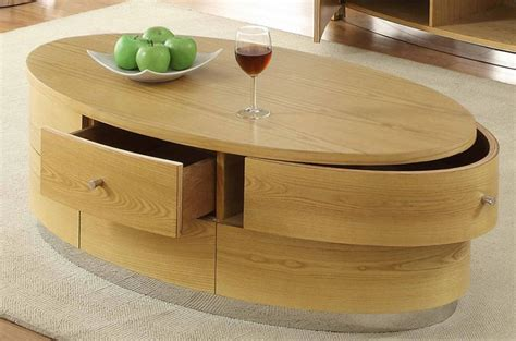 Oval Coffee Tables With Storage Oval Coffee Table With Storage Silo Tree Farm