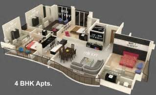 3000 sq ft apartment floor plan 3000 sq ft 4 bhk 4t apartment for sale in jaycee homes