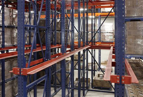Drive In Pallet Racking by Drive In Racking Rack Systems Inc