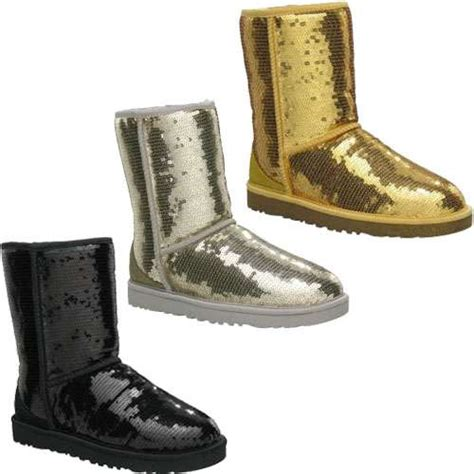 sequin winter shoes ugg classic sparkle