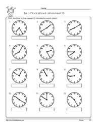 time to 5 minutes worksheet telling time to 5 minutes worksheets