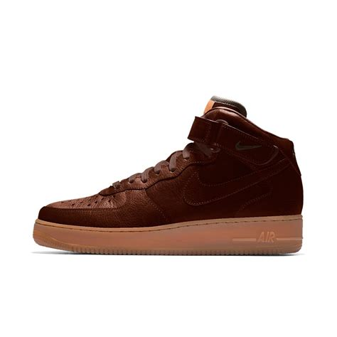 nike air 1 mid premium will leather goods id s