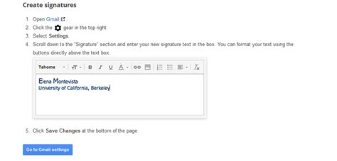 email ending gmail how to add email signatures to the end of email