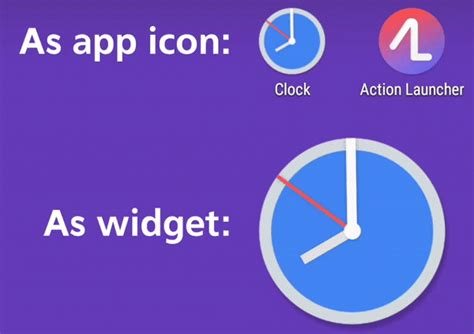 gif app for android launcher gets a update with new icon more free features animated clock icon and more