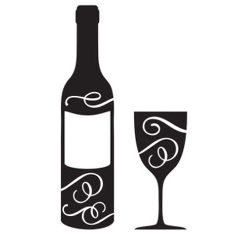 wine bottle svg silhouette design store view design 132071 wine bottle