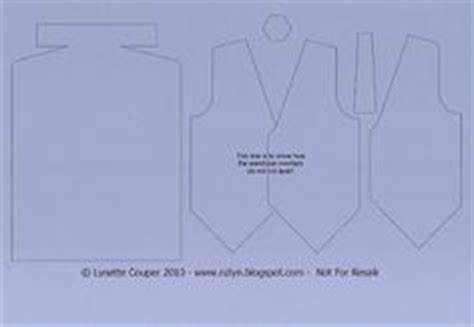 Creative Cards Tuxedos On Pinterest Tuxedos Fathers Day Cards And Cards Paper Tuxedo Template