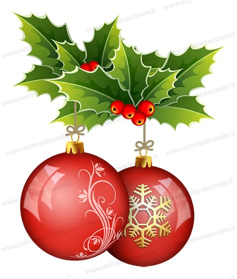 Wall Stickers Sale christmas balls with holly leaves