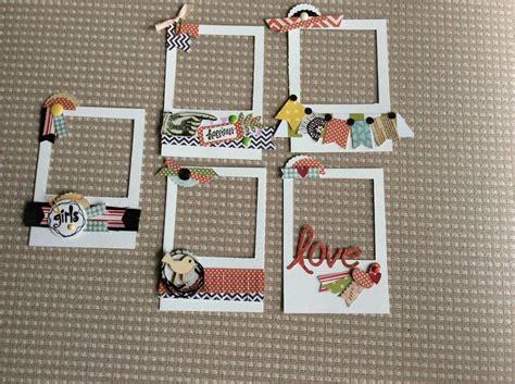 Frame Scrapbook best 25 scrapbook frames ideas on