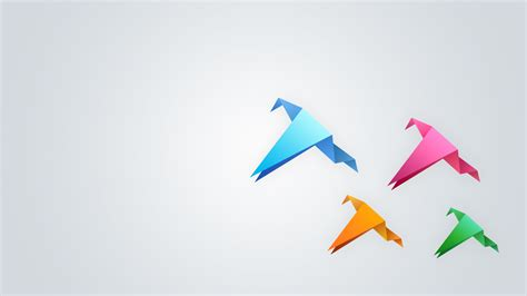 Paper Birds - pin 1600x900 free windows vista7 logo wallpaper on
