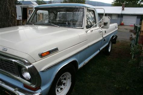 find used 1970 ford f 250 sport custom great vintage truck