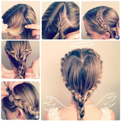 diy hairstyles we heart it diy heart shaped braid