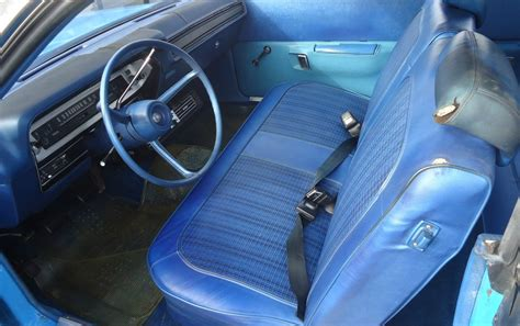blue interior petty blue and 15k miles 1973 plymouth satellite