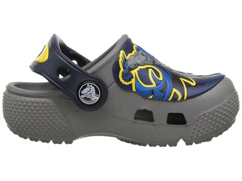 crocs crocsfunlab batman toddler kid at zappos