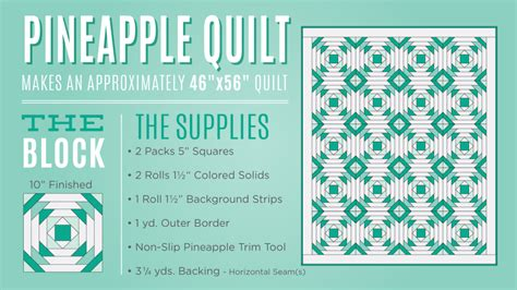 Pineapple Quilt Creative Grids Pineapple Trim Tool Quilting Template Ruler