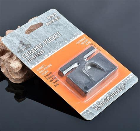 Pengasah Pisau Multifunction Outdoor Portable Knife gerber mini portable knife sharpener pengasah pisau