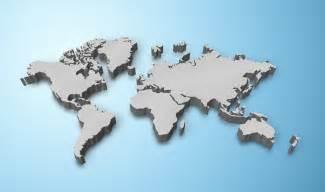 World Map 3d pics photos 3d map of the world
