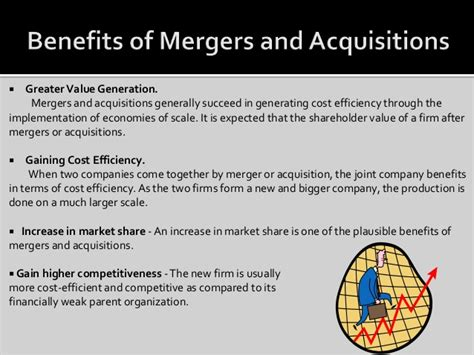 Takeovers And Mergers Essay by Merger And Acquisition Study Exle Pgbari X Fc2